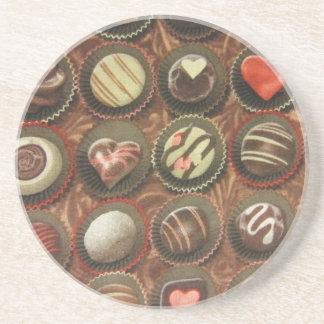 Chocolates & Truffles Sandstone Coaster