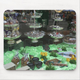 Chocolatier and Patisserie window, Basel Mouse Pad