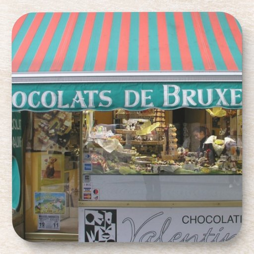 Chocolatier, Bruselas, Bélgica Posavasos
