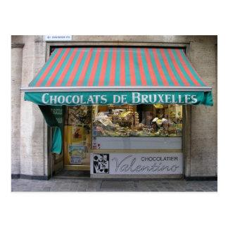 Chocolatier, Bruselas, Bélgica Tarjetas Postales