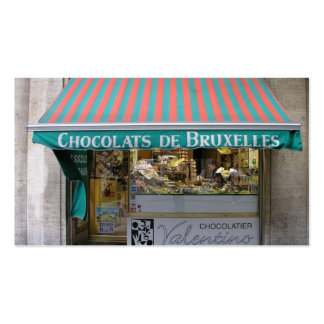 Chocolatier, Brussels, Belgium Double-Sided Standard Business Cards (Pack Of 100)