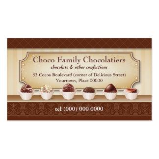 Chocolatier Display Counter Business Card
