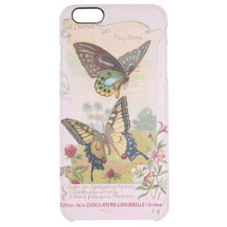 Chocolatier French Vintage Label Clear iPhone 6 Plus Case