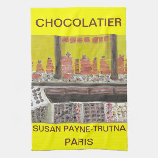 CHOCOLATIER HAND TOWEL