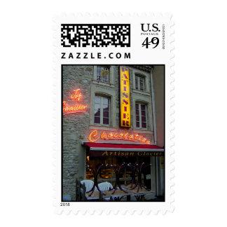 Chocolatier Storefront Stamp
