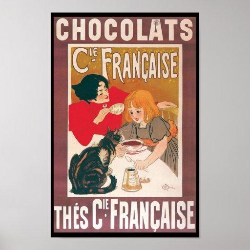 """Chocolats "" Posters"