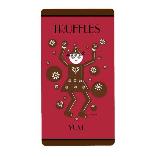 Chocolatta Truffles Labels © 2011 M. Martz