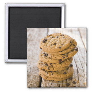 chocolte chip cookies 2 2 inch square magnet