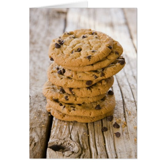 chocolte chip cookies 2 card