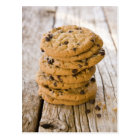chocolte chip cookies 2 postcard