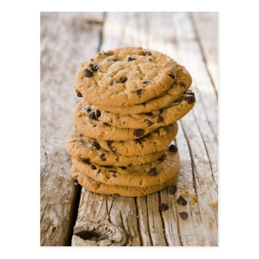chocolte chip cookies 2 postcards