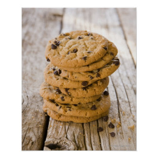 chocolte chip cookies 2 poster