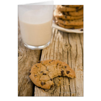 chocolte chip cookies card
