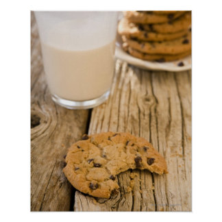 chocolte chip cookies poster