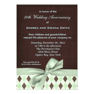 ChocoMint Wedding Anniversary Announcements