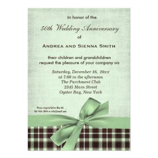 ChocoMint Wedding Anniversary Invite