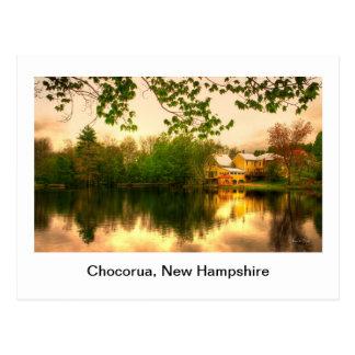 Chocorua Pond Postcard