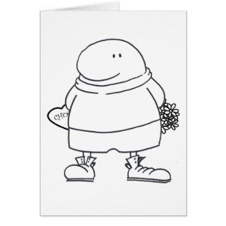Chocs & Flowers - Wilf Card