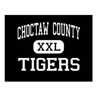 Choctaw County - Tigers - High - Butler Alabama Postcard