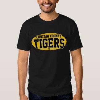 Choctaw County; Tigers Tee Shirt