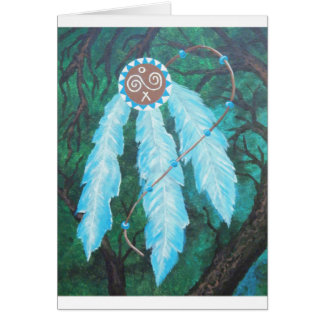 Choctaw Roots Native American Card
