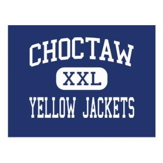 Choctaw - Yellow Jackets - High - Choctaw Oklahoma Postcard
