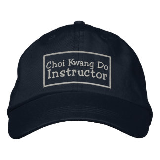 Choi Kwang Do Instructor Embroidered Hat