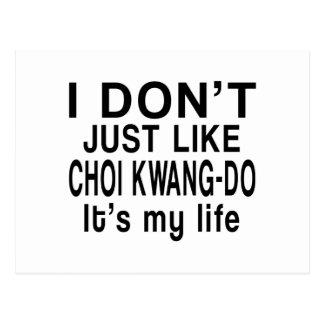 CHOI KWANG-DO IS MY LIFE POSTCARD