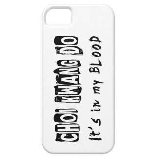 Choi Kwang Do It s in my blood iPhone 5 Case