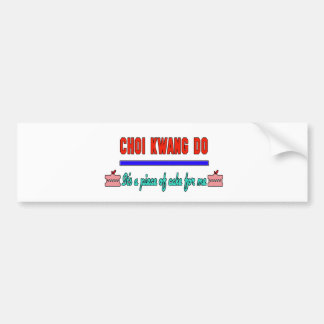 Choi Kwang Do It's a piece of cake for me Car Bumper Sticker