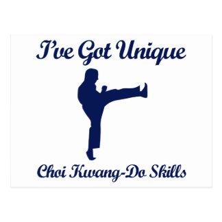 Choi Kwang-Do martial art designs Postcard