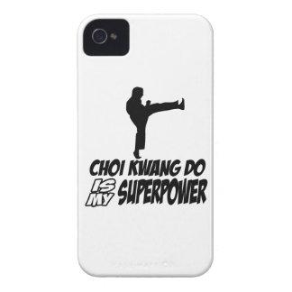 Choi kwang do martial arts designs iPhone 4 Case-Mate case