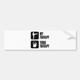 Choi-Kwang-Do my therapy Bumper Sticker