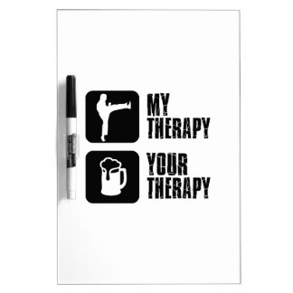 Choi-Kwang-Do my therapy Dry Erase Board