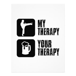 Choi-Kwang-Do my therapy Letterhead Design