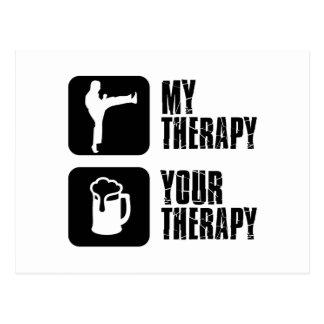 Choi-Kwang-Do my therapy Postcard