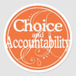 Choice and Accountability Sticker