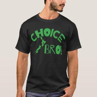 Choice Bro (Kiwi New Zealand map) T-Shirt
