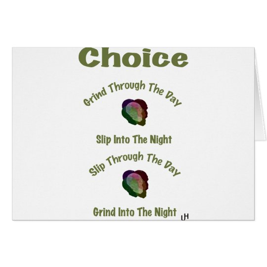 Choice Card