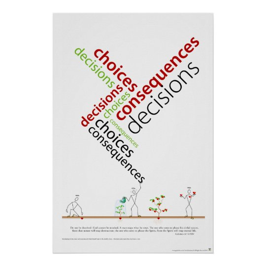 Choices Decisions Consequenses.ai Poster