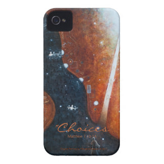 """""""Choices"""" iPhone 4/4s Barely-There  Case"""