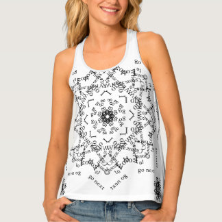 """Choices"" Word Art Tank Top by AspireWonder"