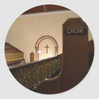 choir bench stickers