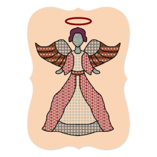 Choir Boy Angel Card