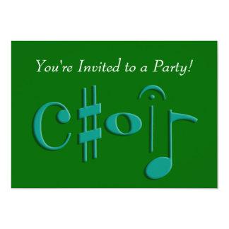 choir card