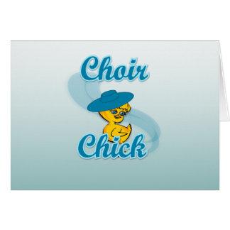 Choir Chick #3 Card