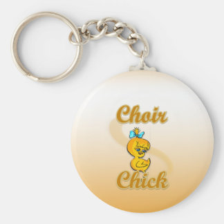 Choir Chick Keychain