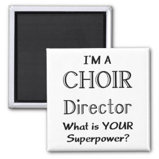 Choir director 2 inch square magnet