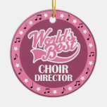 Choir Director Gift For Her Christmas Tree Ornament