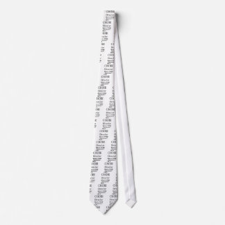Choir director neck tie